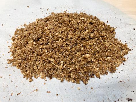 Paleo friendly, keto friendly, grain free granola.
