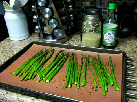 Garlic Soy Asparagus