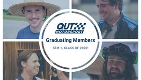 Our Graduating Members