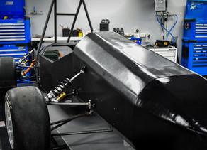 QUT Motorsport Unveils Rolling Chassis