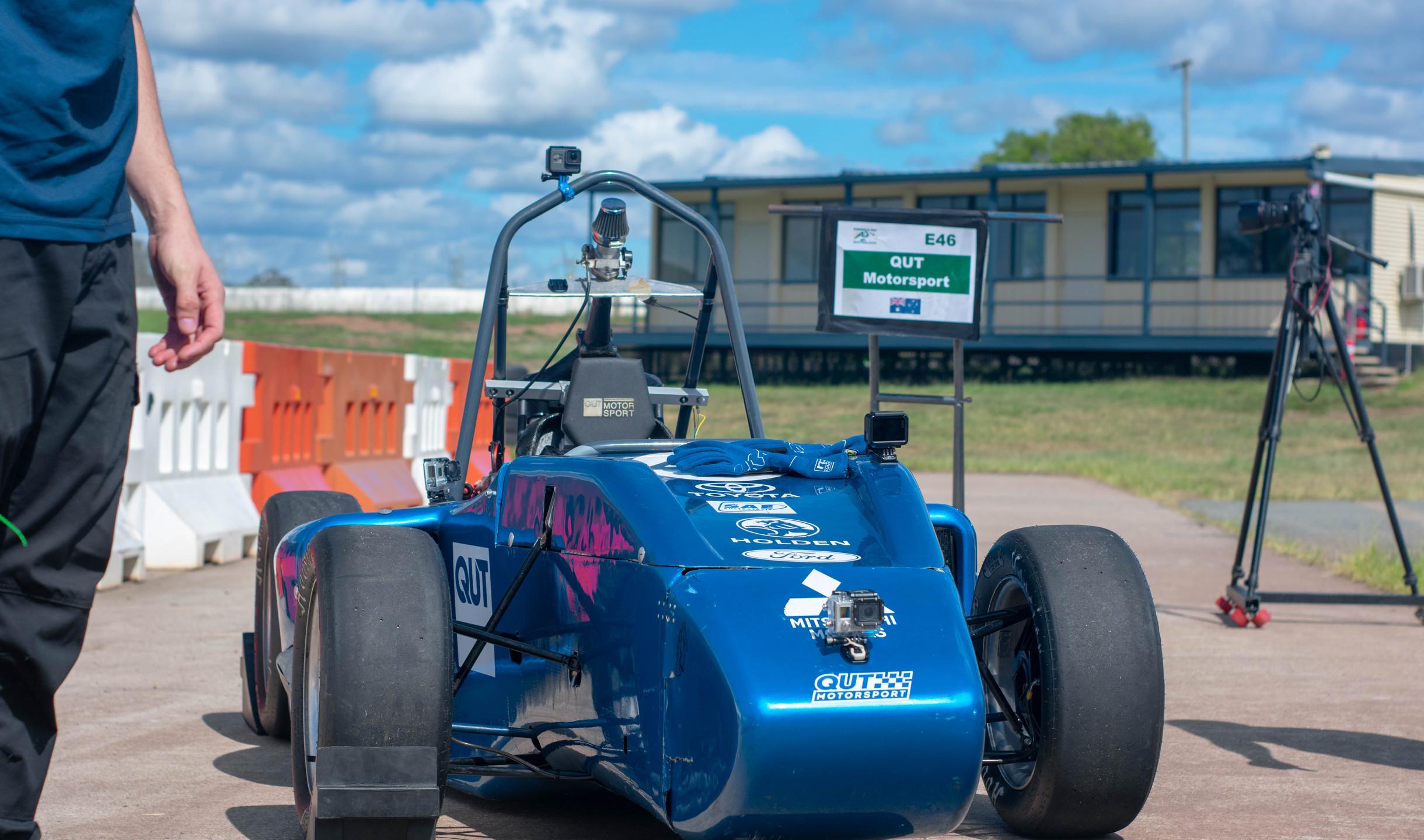 Testing at Lakeside Raceway. Photo: Michael Hanau