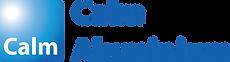 Calm-Logo Blue & White  - Blue Text (PNG