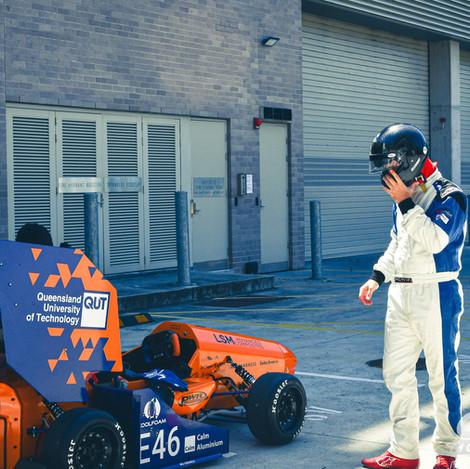 Lando's First Car Park Test