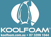 Koolfoam logo - racing car - art 07-11-1