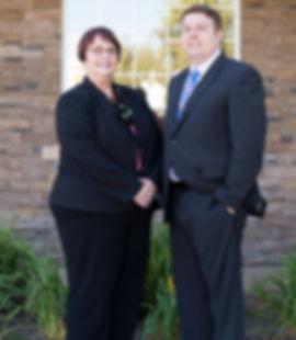 Bankruptcy attorney, Patricia Ashcraft, and Estate Planning Attorney, Greg Ashcraft