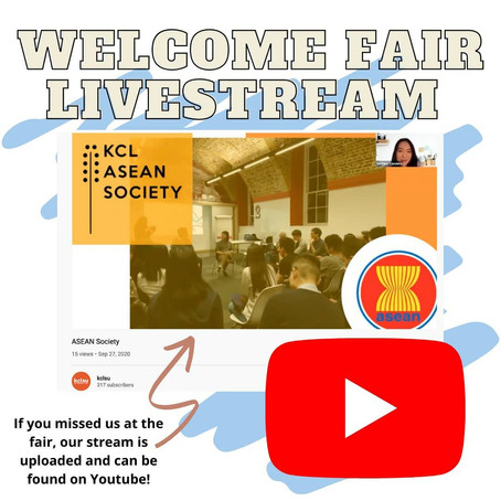 WELCOME FAIR LIVESTREAM