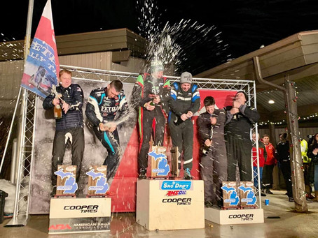 McKenna Leads The Way at Entertaining Sno*Drift