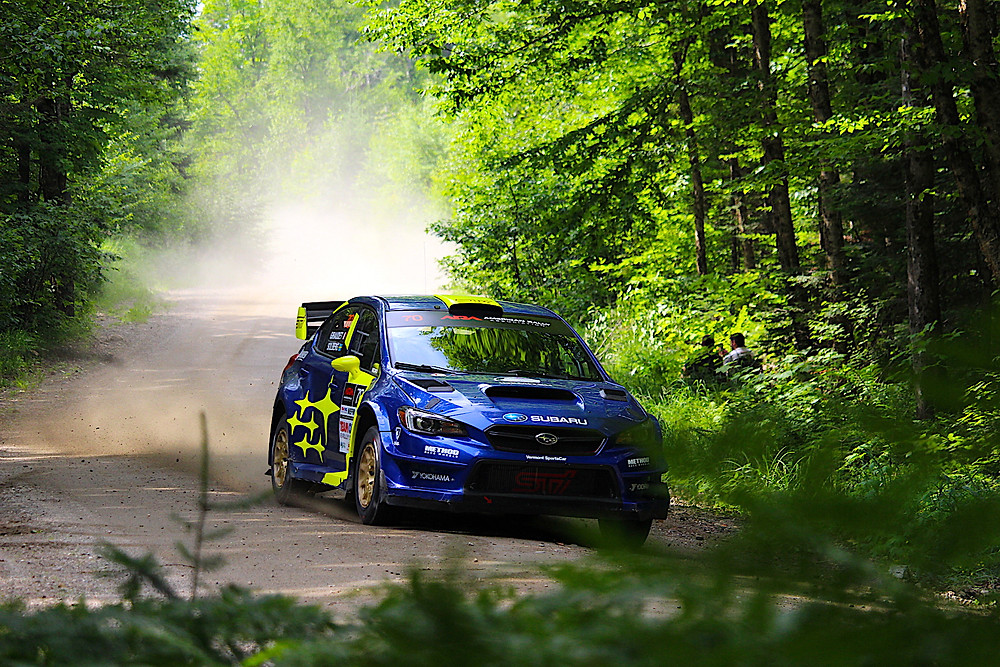 Solberg had two long delays, costing him a podium at NEFR