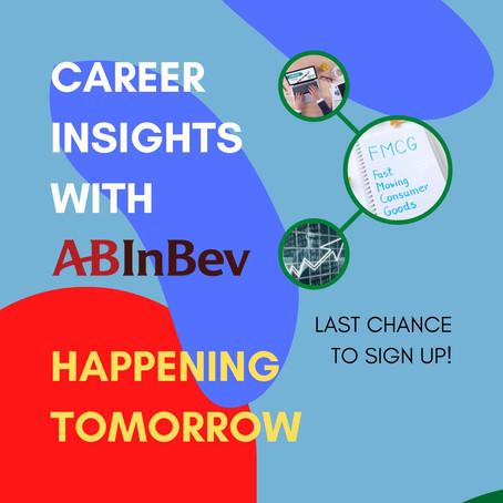 Career Insights with AB InBev!