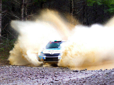 DirtFish Report: McKenna Too Hot to Catch on Olympus Rally