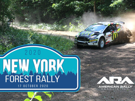 New York Forest Rally Added to 2020 ARA Schedule