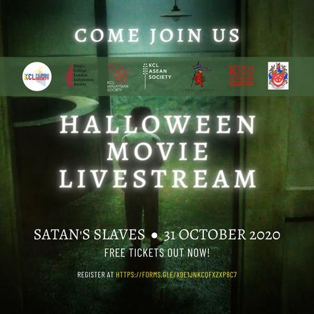 Halloween Movie Livestream!