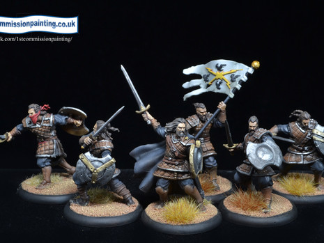 Stormcrow mercenaries - step by step
