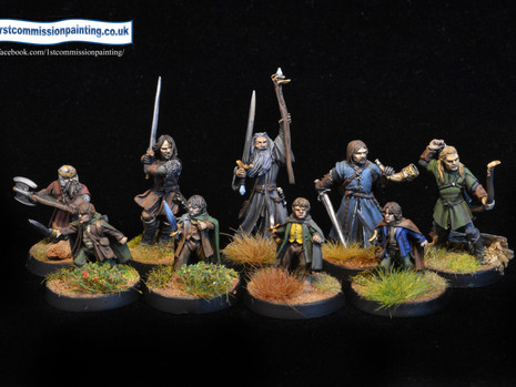Painting update 1 - GW Lord of the Rings part 1