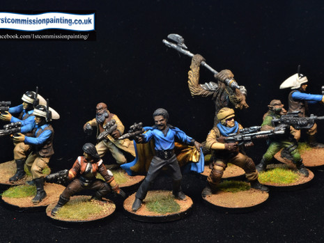 Painting with the force 1 – The Rebels
