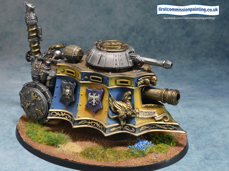 Nordland steamtank - or how to paint yellow without tears (with a small Crisis Protocol update )