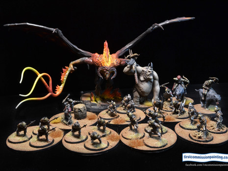 LOTR Evil doers but moreso* - painting update 10ish