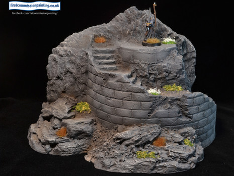 Painting update 6 - Ziterdes / Thomarillion Terrain