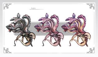 Hydra exploraciones de color modificado.