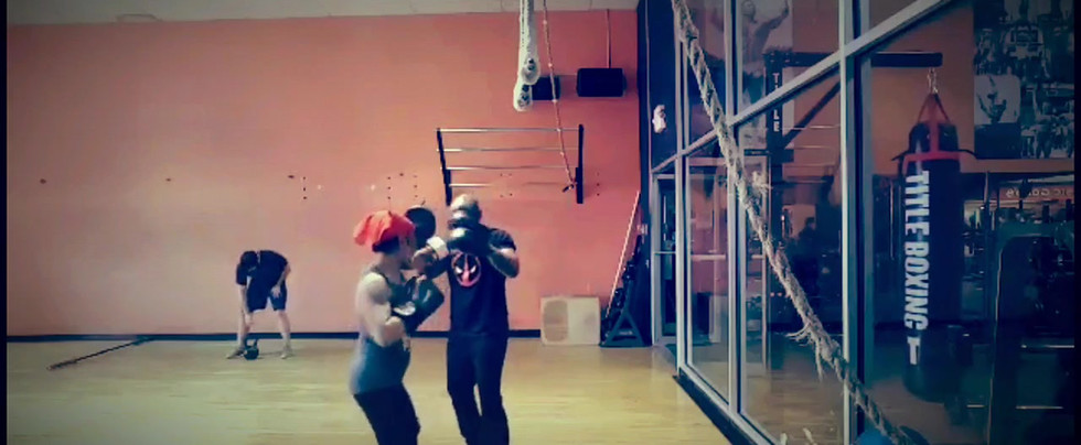 Boxing with Trainer
