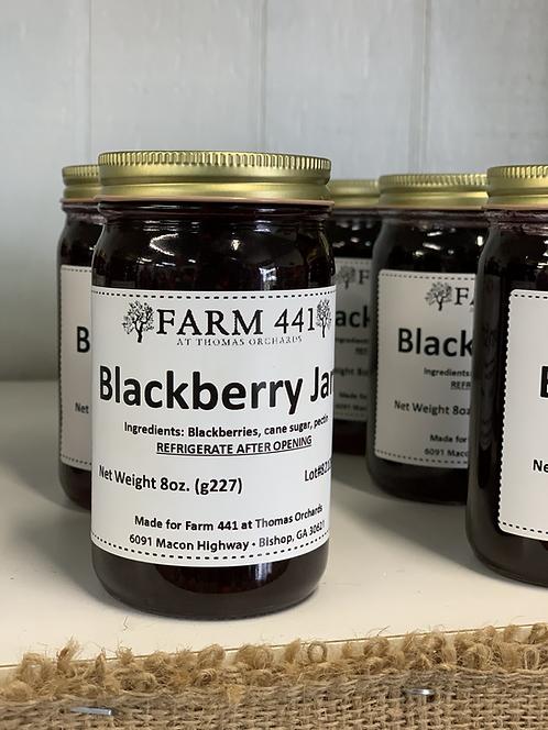 Blackberry Jam - 8oz.