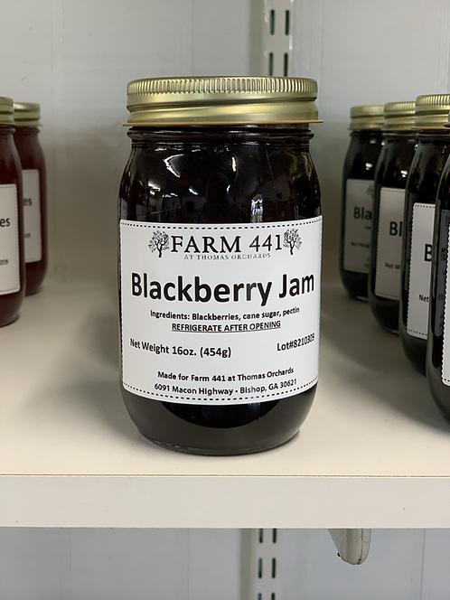 Blackberry Jam - 16oz.