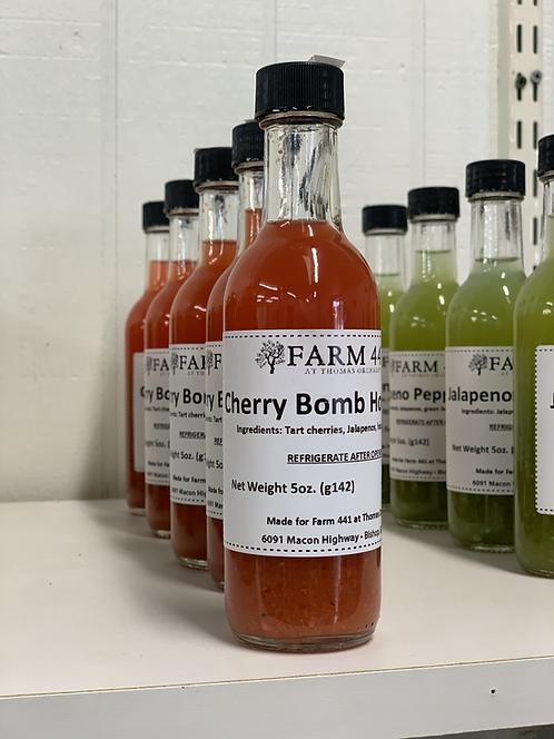 Cherry Bomb Hot Sauce - 5oz.