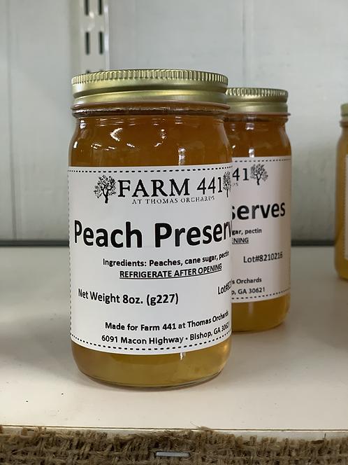 Peach Preserves - 8oz.