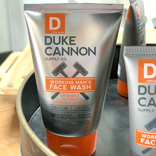 Duke Cannon Supply Co. Face Wash - 4oz.
