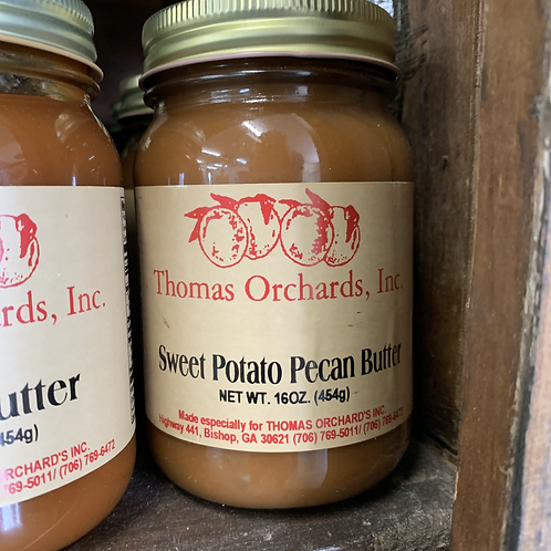 Sweet Potato Pecan Butter - 16oz.