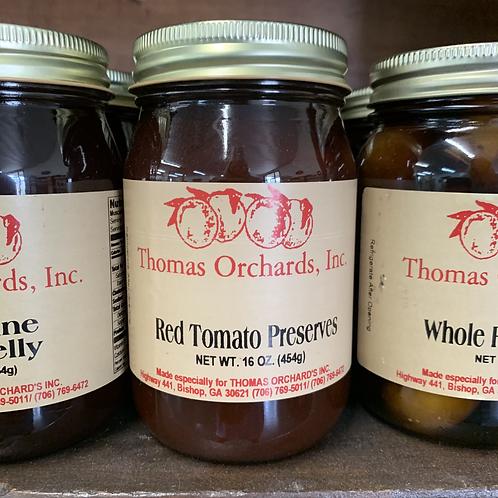 Red Tomato Preserves - 16oz.