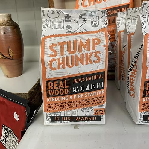 Stump Chunks Fire Starter - .075 Cubic Feet