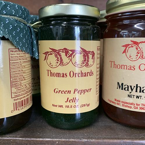 Green Pepper Jelly - 10.5oz.