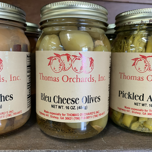 Bleu Cheese Olives - 16oz.