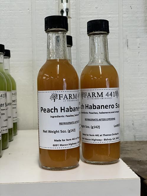 Peach Habanero Hot Sauce - 5oz.