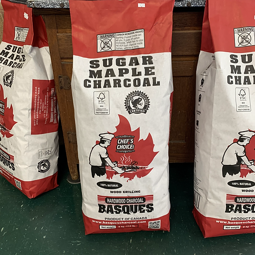 Sugar Maple Charcoal - 17.6 lbs - LOCAL PICKUP ONLY