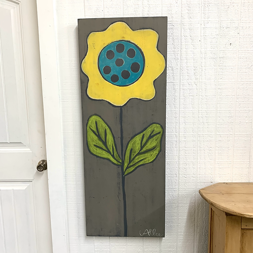 Cecel Allee Painting - Yellow Flower