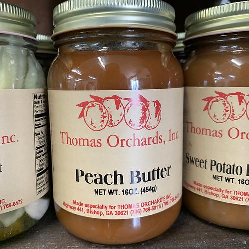 Peach Butter - 16oz.