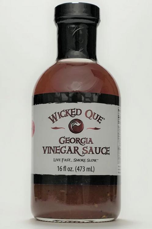 Wicked Que Georgia Vinegar Sauce