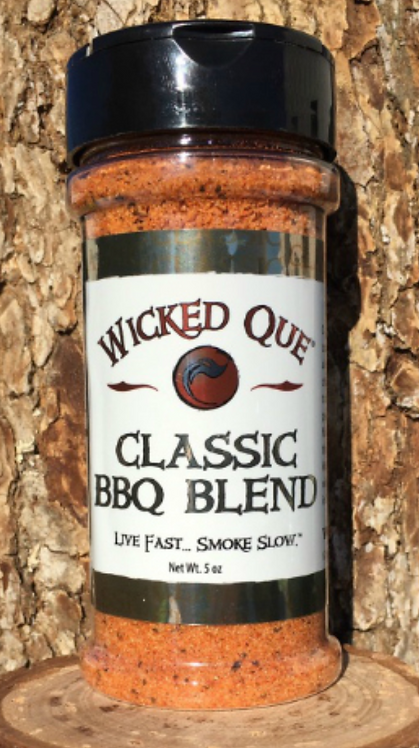 Wicked Que Classic BBQ Blend Rub