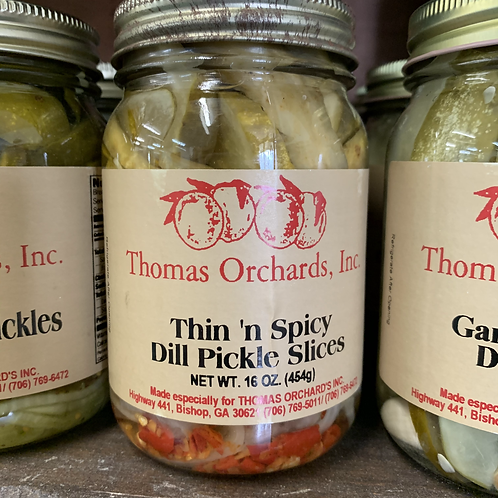 Thin 'n Spicy Dill Pickle Slices - 16oz.