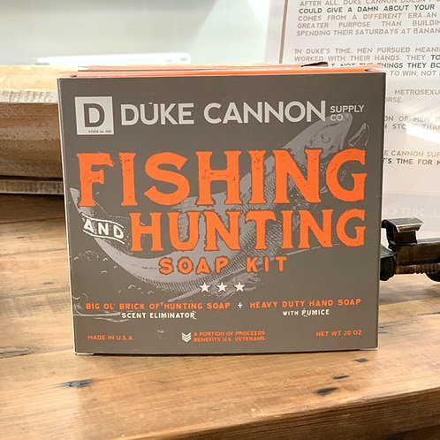 Duke Cannon Supply Co. Fishing and Hunting Soap Kit