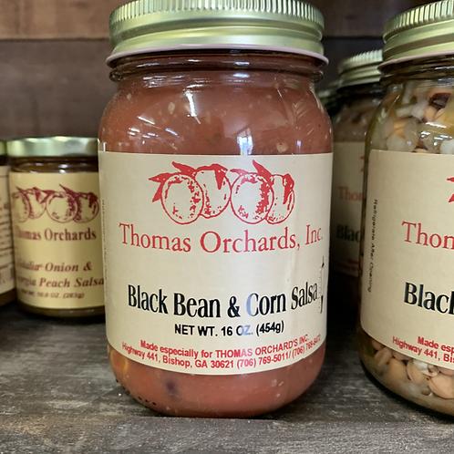 Black Bean and Corn Salsa - 16oz.