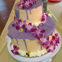 Purple Chocolate drip cake.JPG