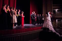 The bride enters!
