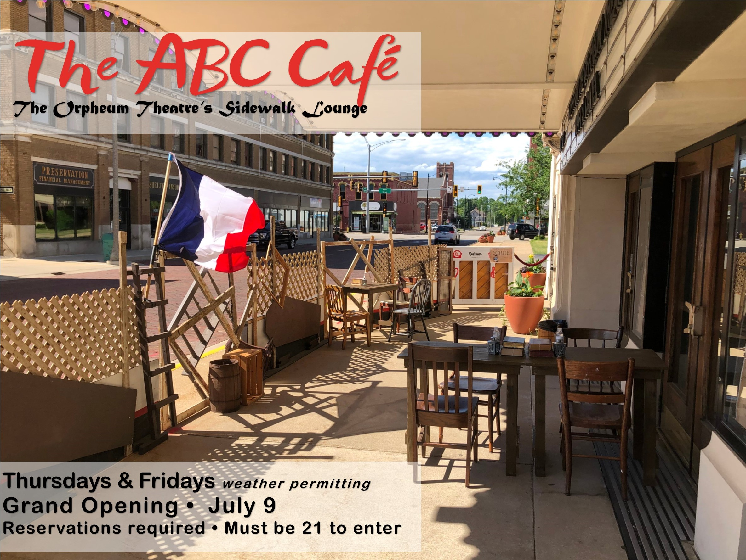 The ABC Cafe at The Orpheum Theatre