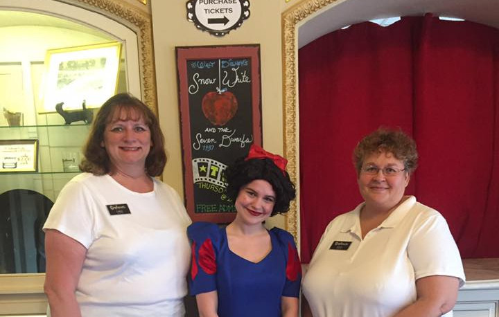 Carol and Renee with Snow White