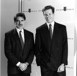 Paul Cohen with Kieren Perkins
