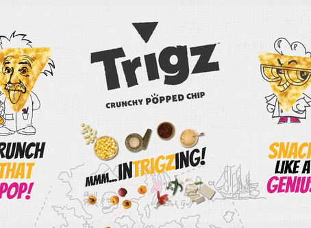 Trigz Corn Snacks Marketing