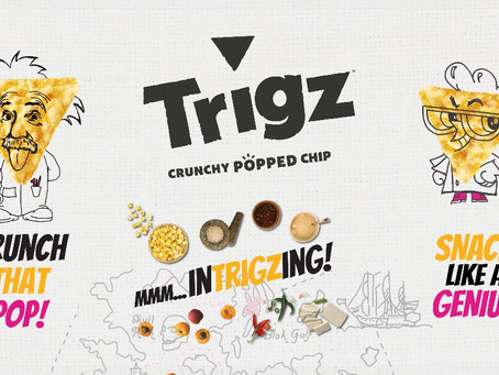 Trigz Corn Snacks Marketing